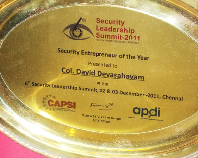 Security Entreprenuer of the Year